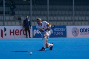 John John Dohmen Vs Spain marking his 400th International Hockey appearance