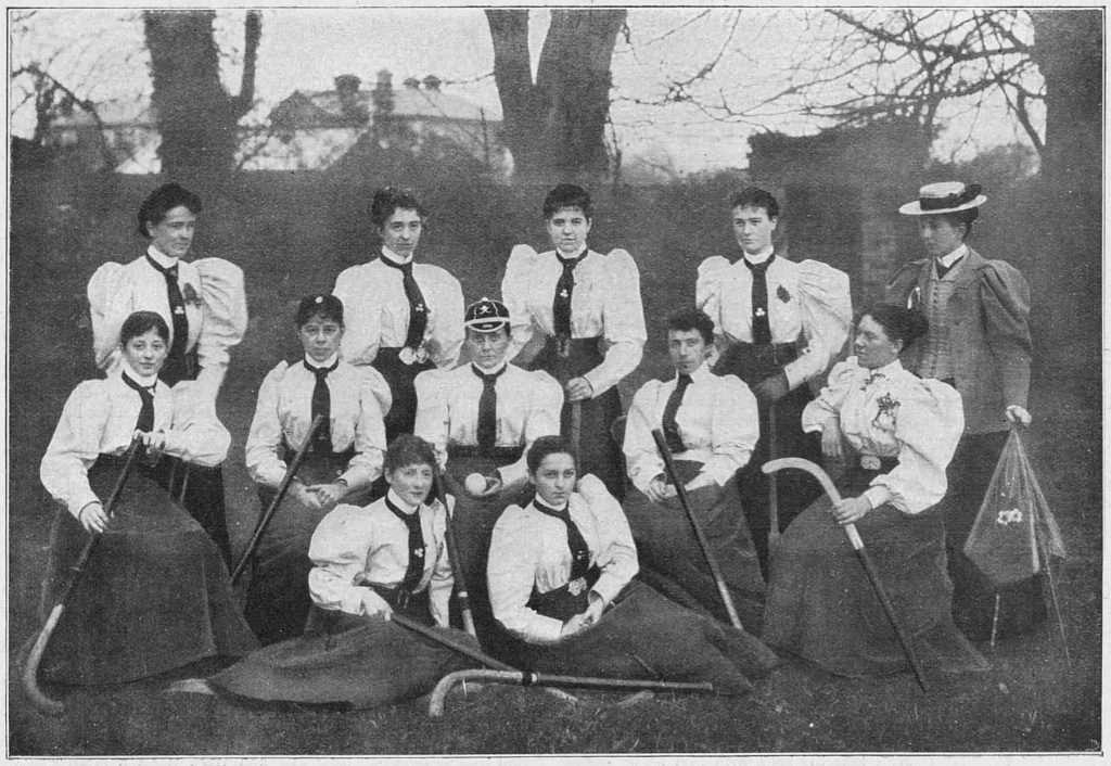 Ireland women 1896 vs England