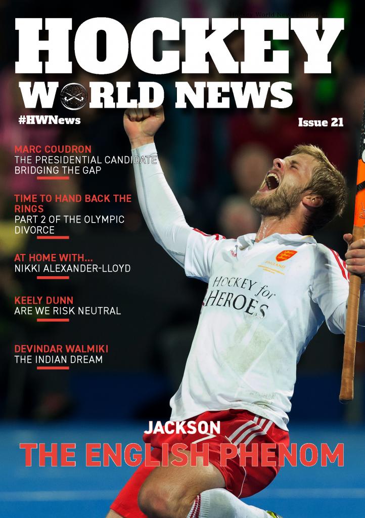 Hockey World News Edition 21 Cover