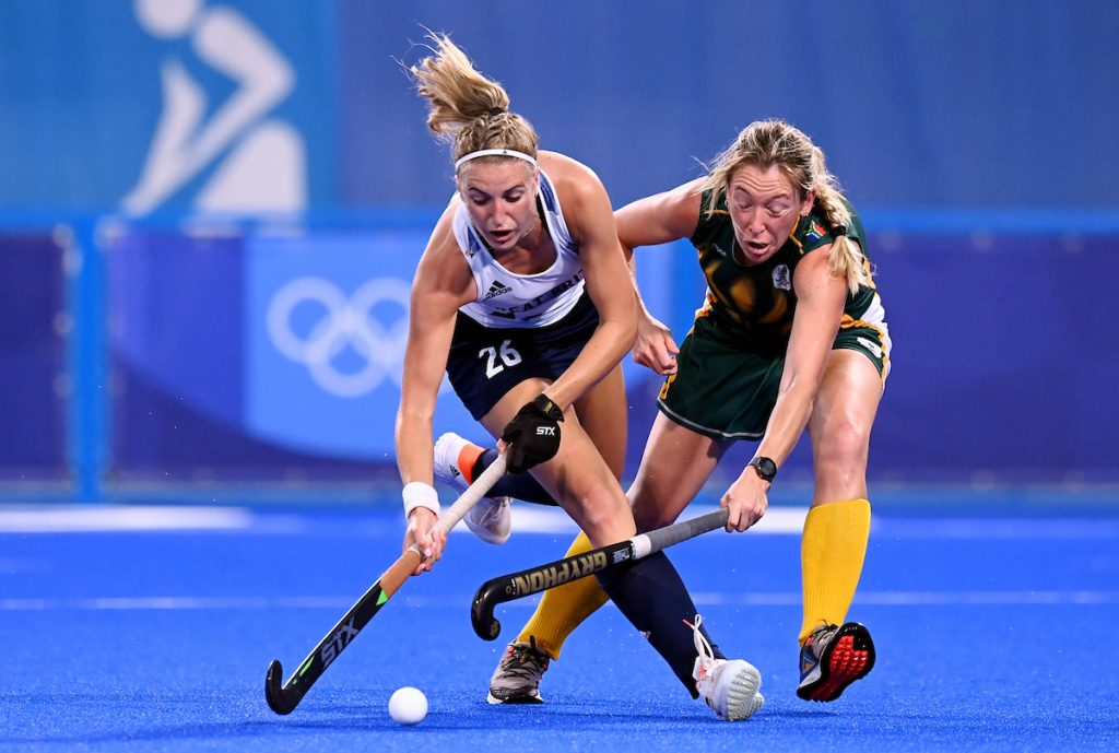 TOKYO - Tokyo 2020 Olympic Games South Africa v Great-Britain (Pool A) Photo: Lily Owsley. COPYRIGHT WORLDSPORTPICS FRANK UIJLENBROEK