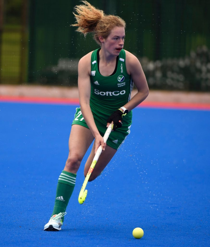 Niamh Carey on the attack Picture Billy Pollock