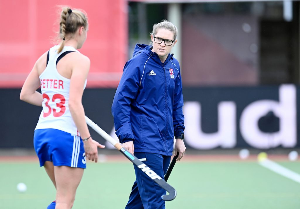 Katie Glynn continues as assistant coach
